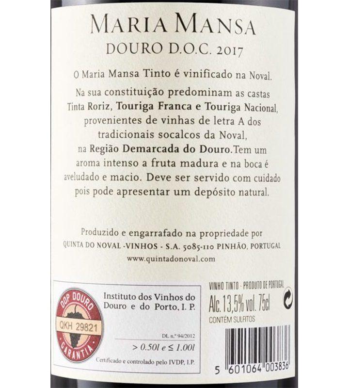 Maria Mansa Tinto