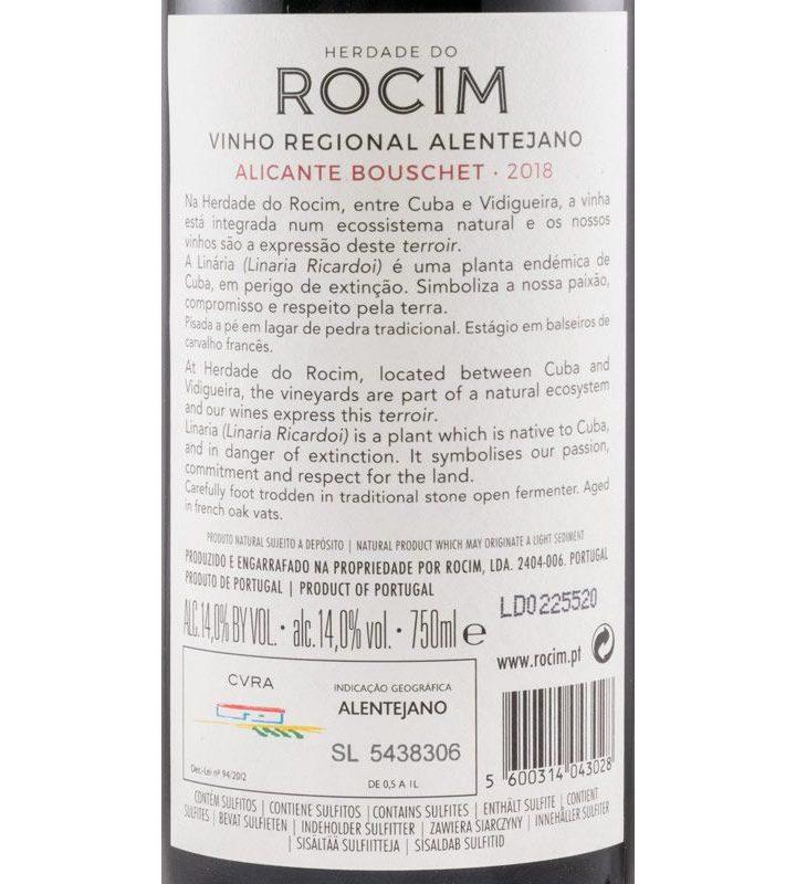 Herdade do Rocim Alicante Bouschet Tinto