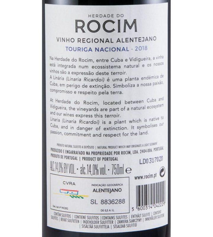Herdade do Rocim Touriga Nacional