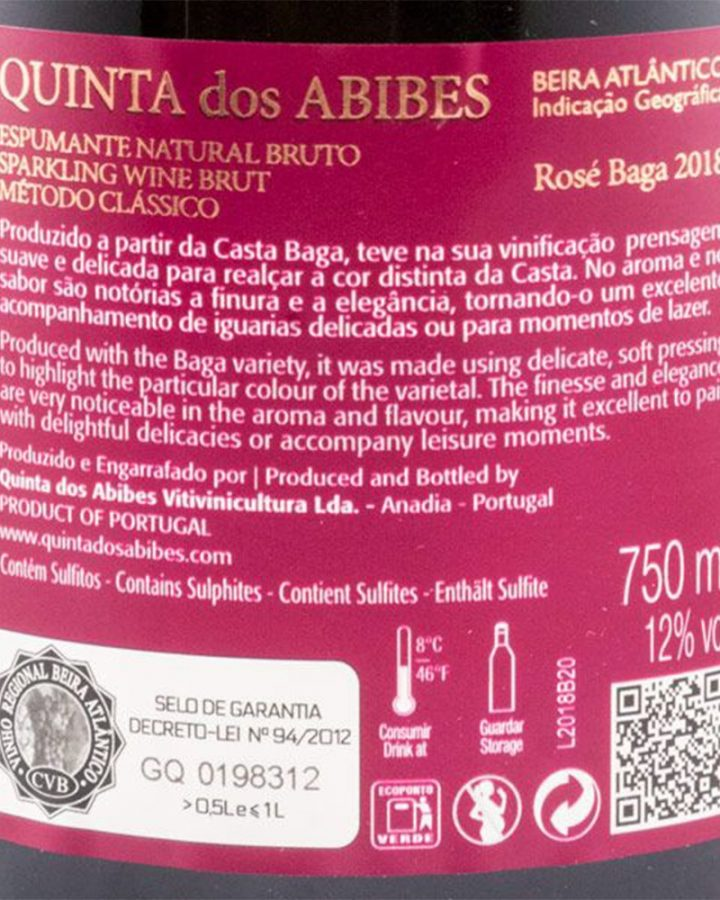 Quinta dos Abibes Baga Rosé